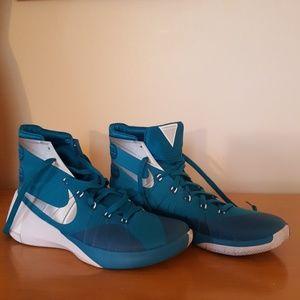 Nike Mens Hyperdunk 2015 basketball shoes teal